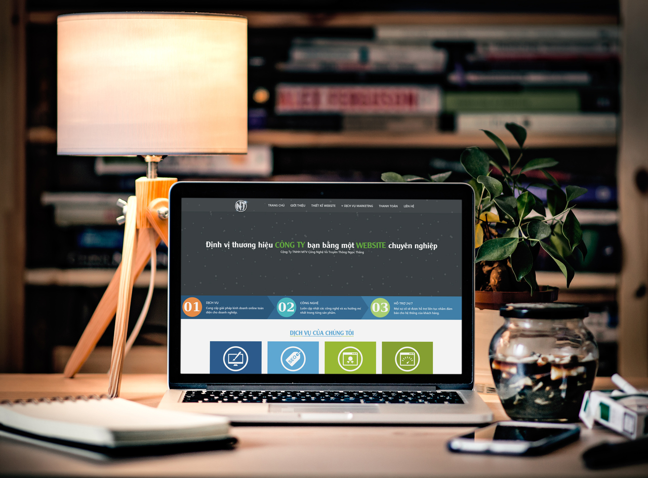 Thiết kế web tại Thừa Thiên Huế