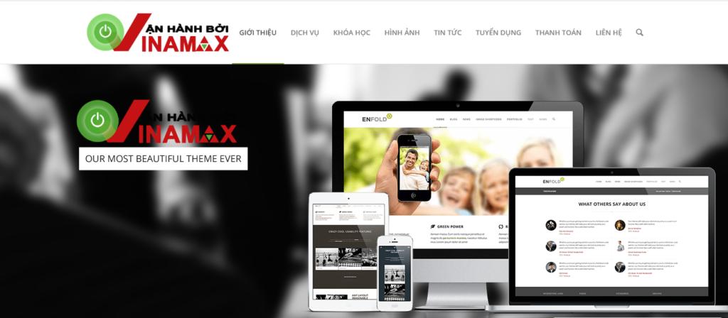 Công ty thiết kế web Vinamax