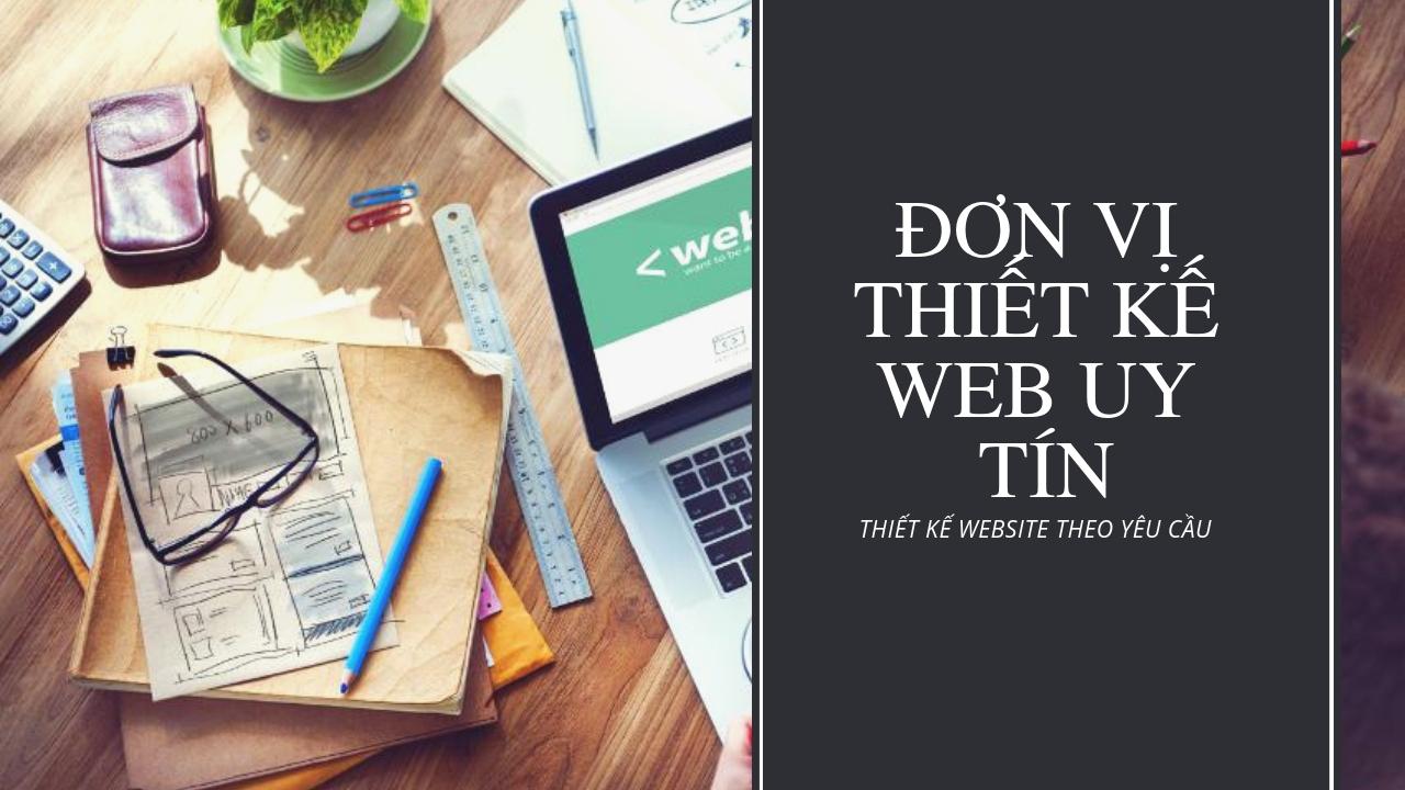 Đơn vị thiết kế web uy tín chuyên nghiệp nhất Hà Nội