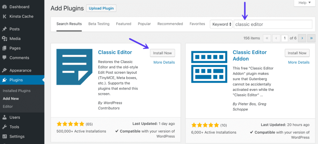 Upload plugin cho website wordpress