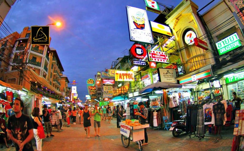 Nguồn hàng quần áo tại Thái Lan