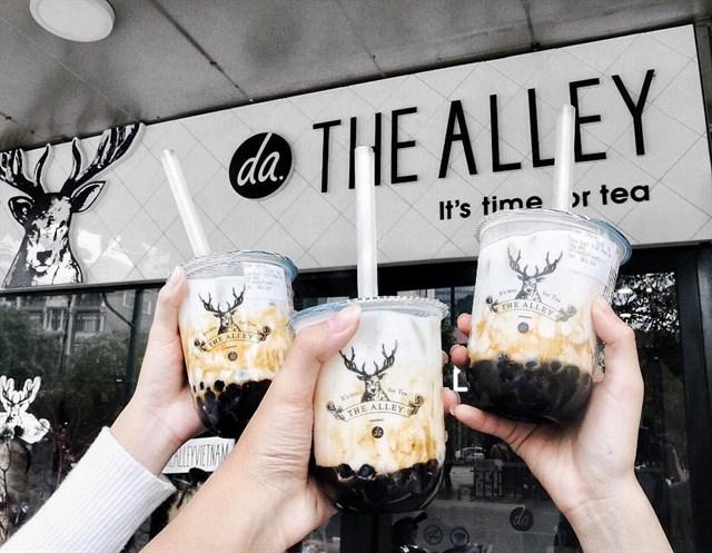 Kinh doanh nhượng quyền trà sữa Alley