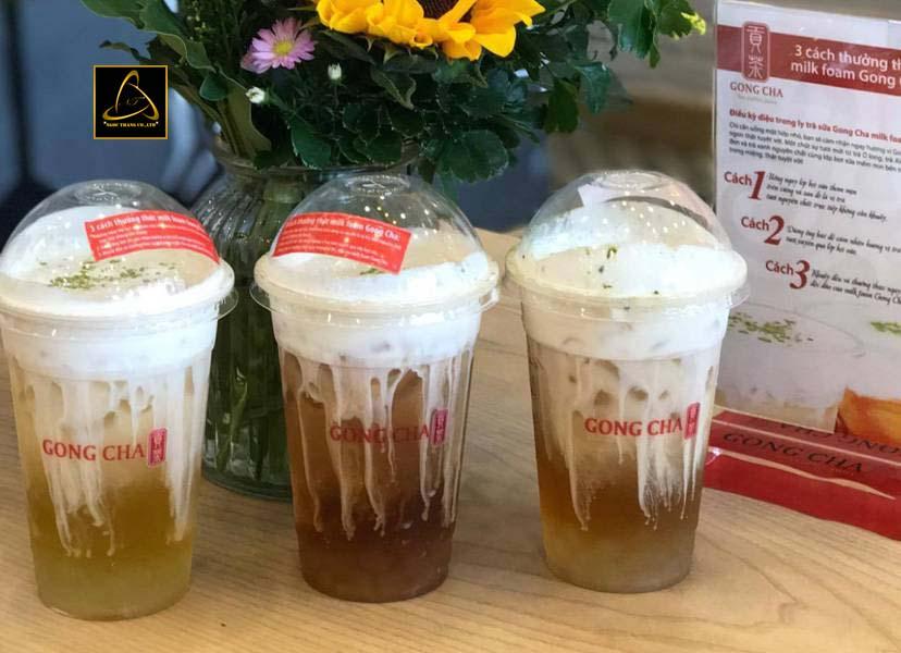 Kinh doanh nhượng quyền trà sữa gong cha