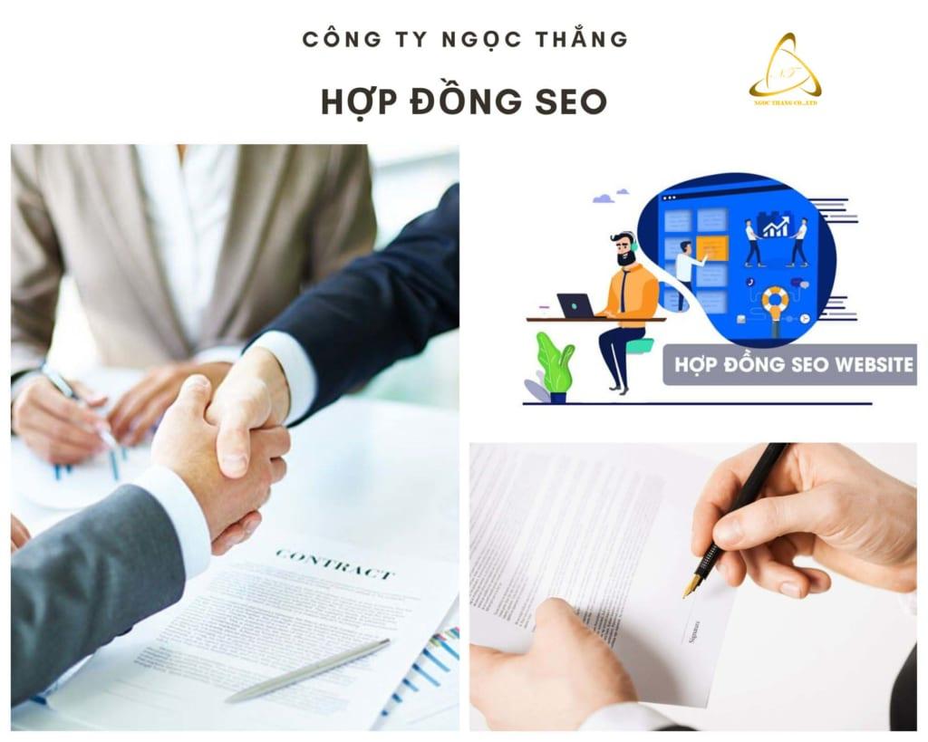 Hợp đồng SEO tổng thể website