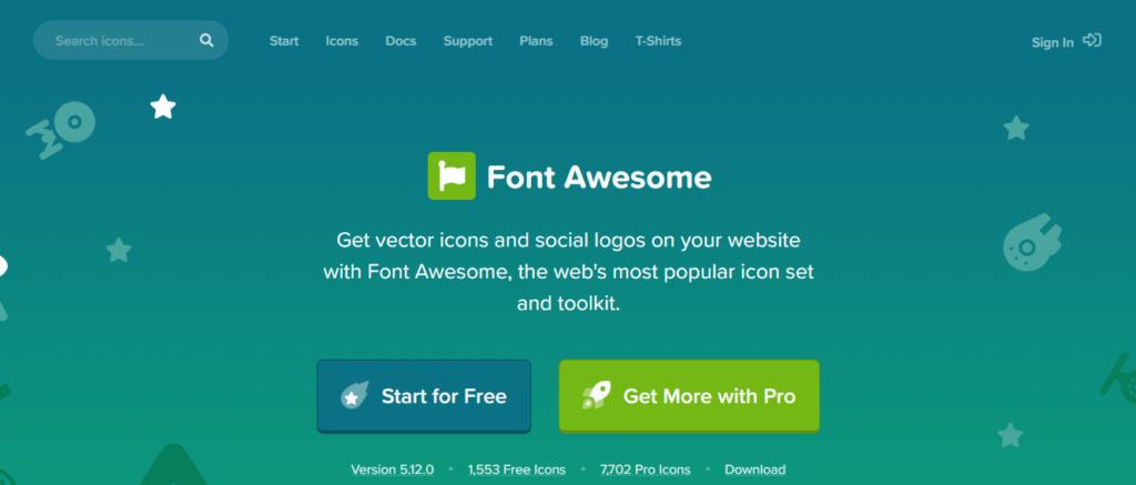 Thêm Font Awesome Vào Website
