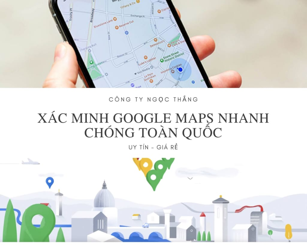 Xác minh địa điểm Google Maps