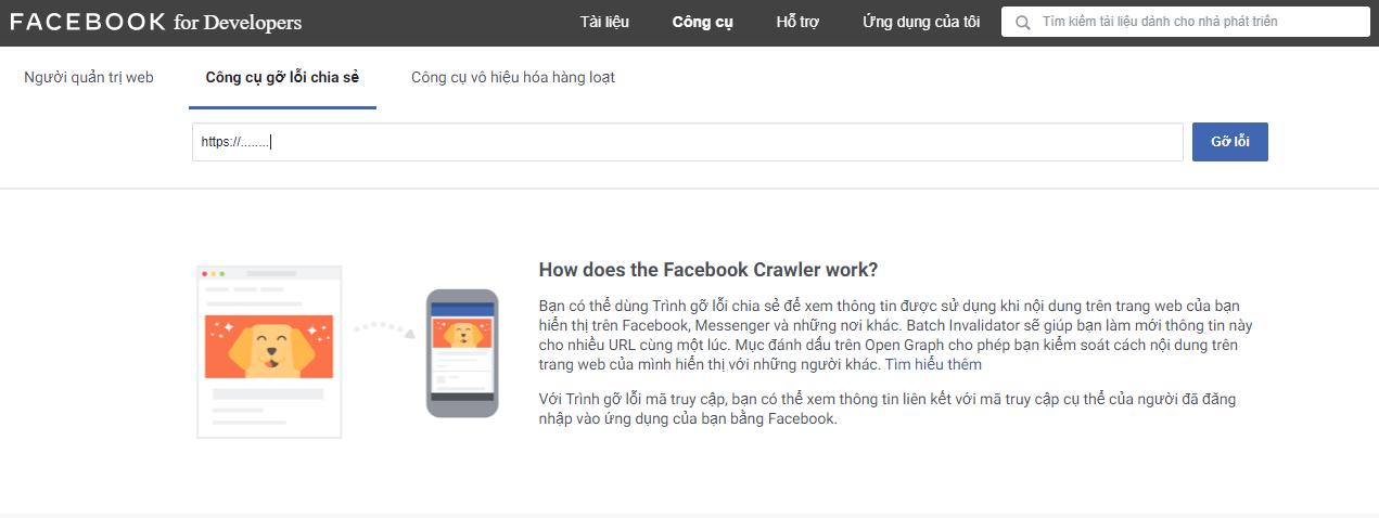 Trình gỡ lỗi facebook