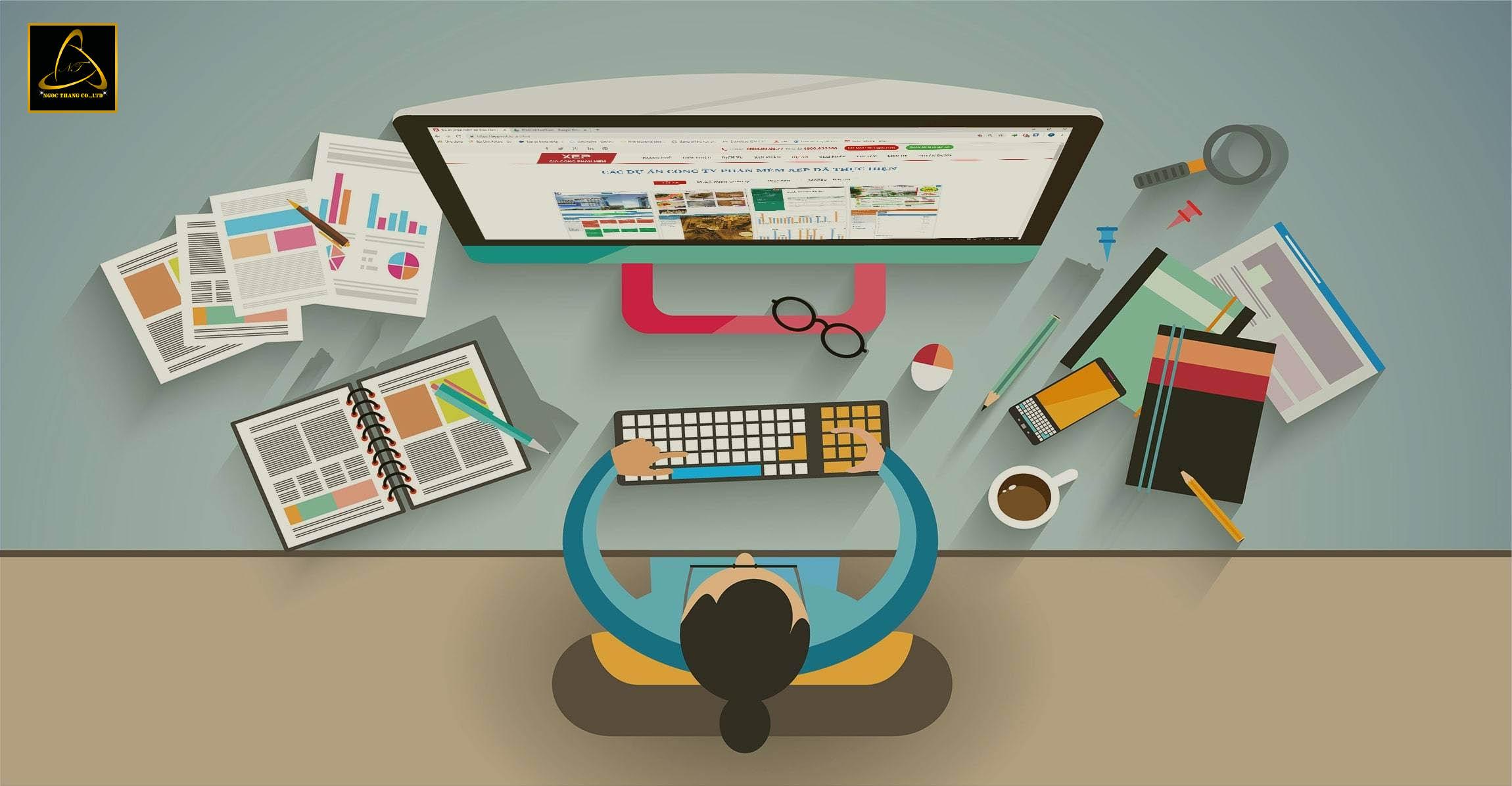 dịch vụ thiết kế website công ty bảo vệ