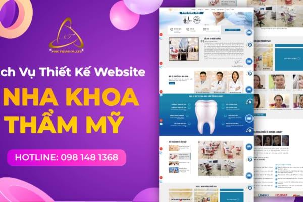 Thiết kế website nha khoa thẩm mỹ