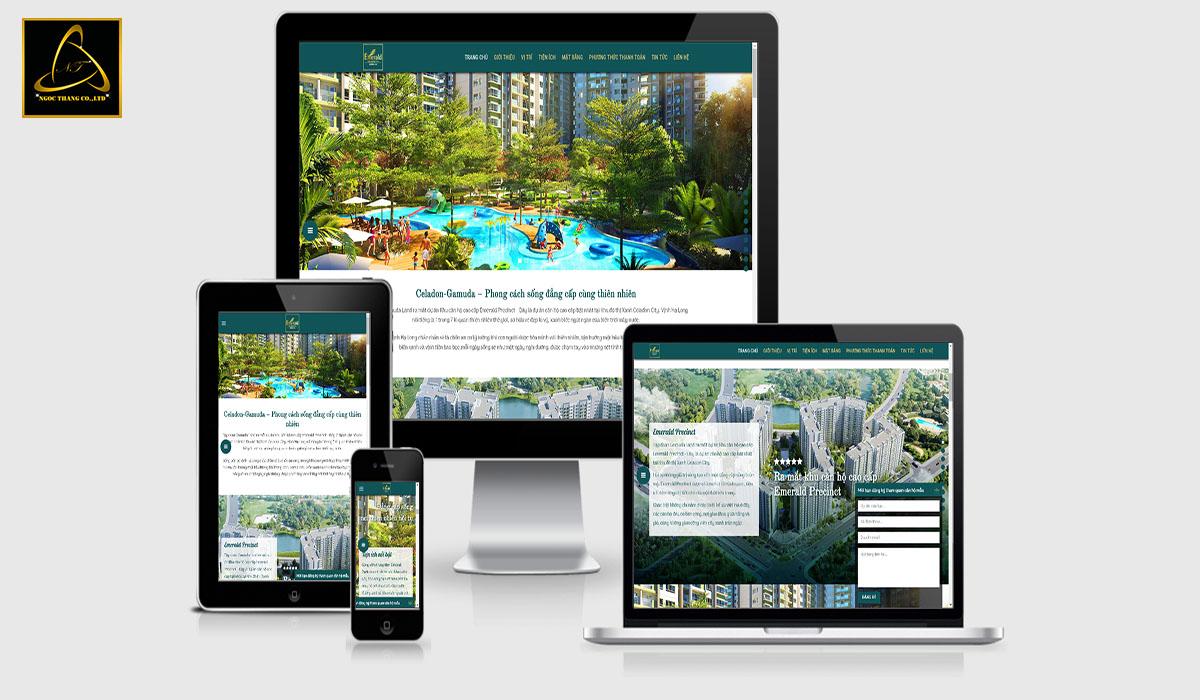 Lưu ý khi thiết kế website Resort nghỉ dưỡng