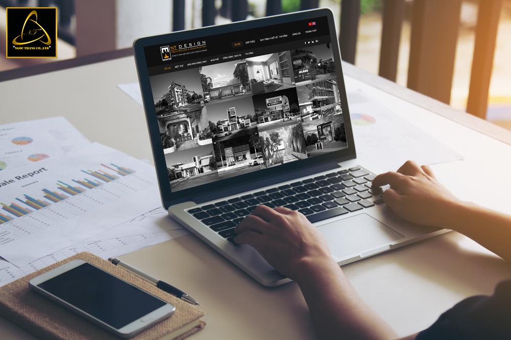 Thiết kế website công ty kiến trúc chuyên nghiệp