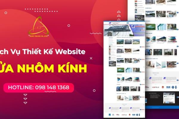 Thiết kế website cửa nhôm kính