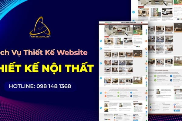 Thiết kế website thiết kế nội thất