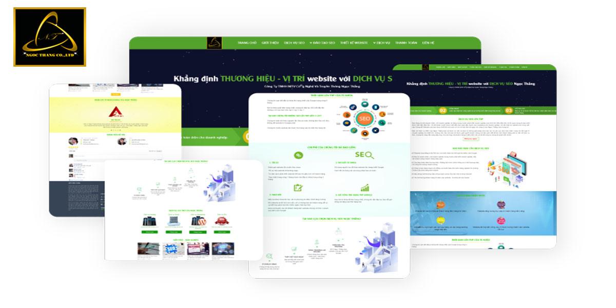 Ưu điểm thiết kế website bán hàng tại Ngọc Thắng