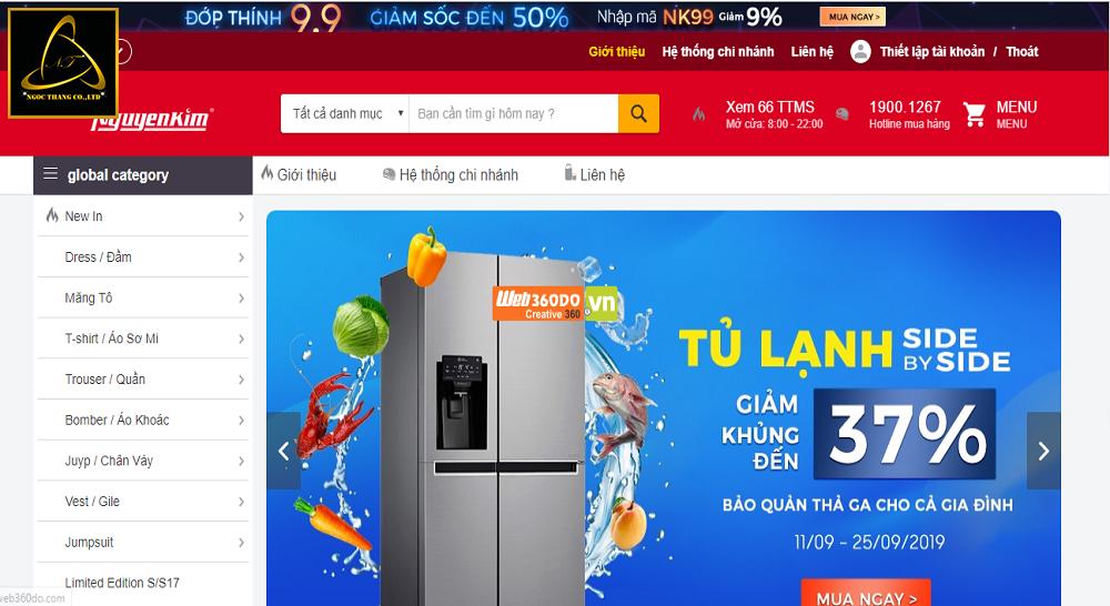 Các bước thiết kế website điện tử điện lạnh